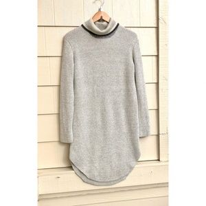 Kit and Ace Turtleneck Wool Cashmere Sweater Dress